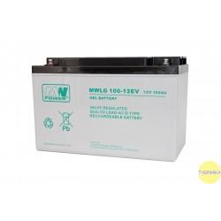 Akumulator MWLG 100-12EV (12V-100Ah, GEL-PVC)