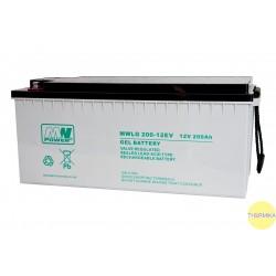 Akumulator MWLG 200-12EV (12V-200Ah, GEL-PVC)