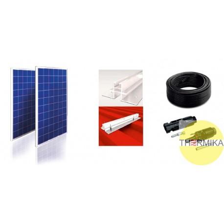 Zestaw elektrownia słoneczna moc 2kW