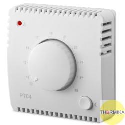Cyfrowy termostat przewodowy na pokrętło PT04