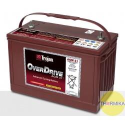 Akumulator Trojan OverDrive AGM 31