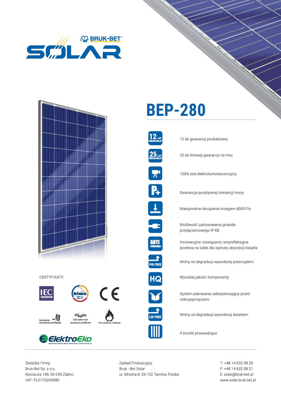 BEP 280 Wp