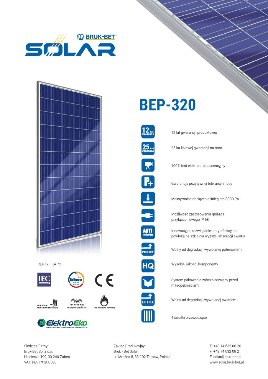 BEP 320 Wp